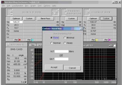 Калькулятор Объема Короба Сабвуфера 2.0